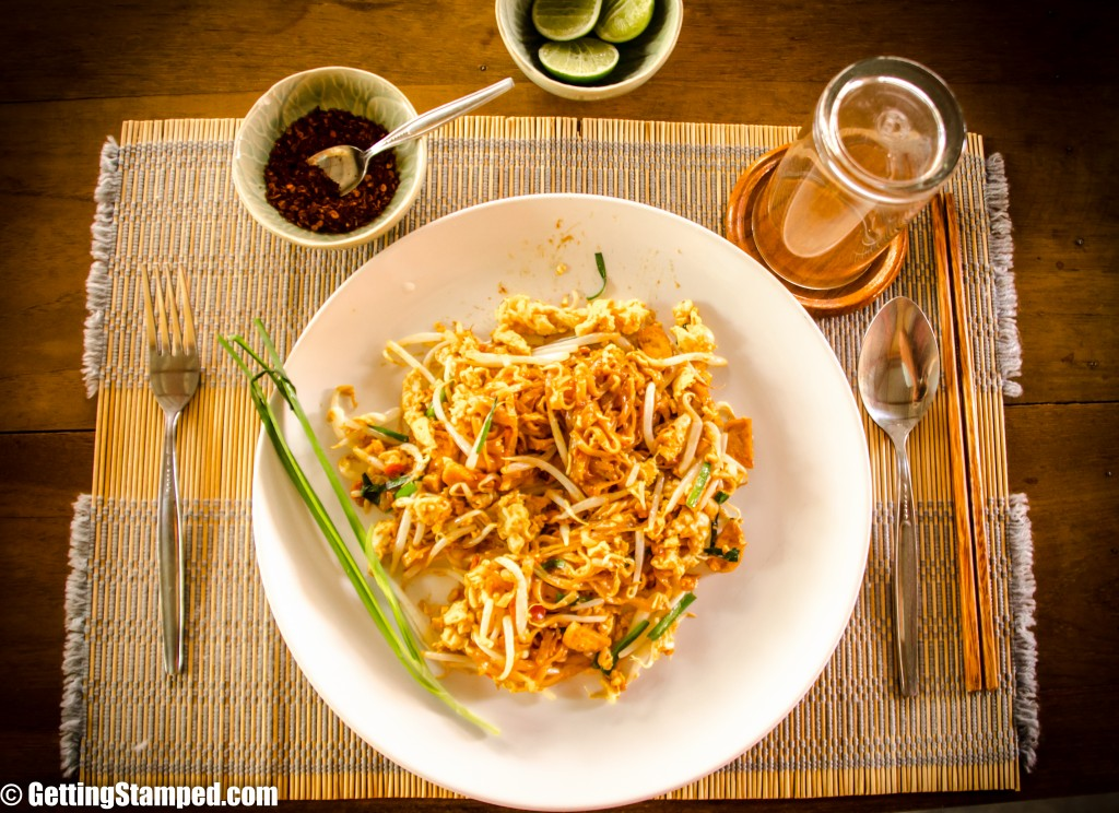 Thai Cooking School Chiang Mia - Pad Thai-6