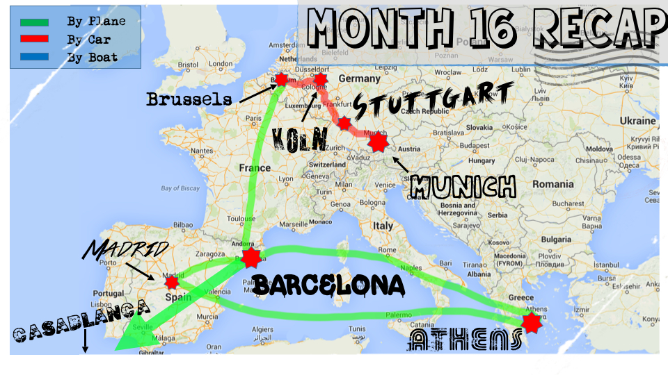 Month 16 Recap of our RTW trip