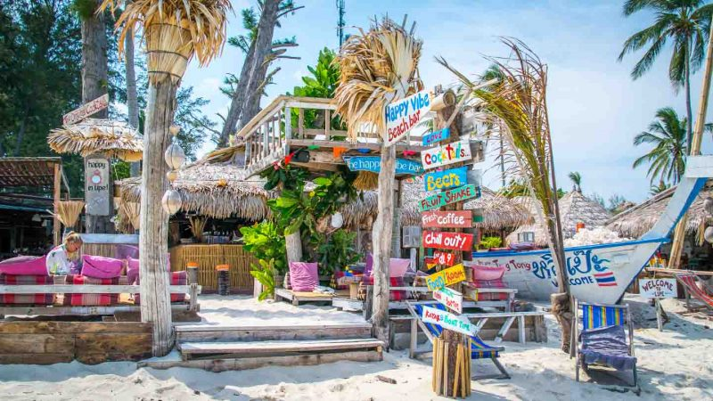 Ultimate Koh Lipe Thailand Travel Guide - Happy Vibe Beach Bar