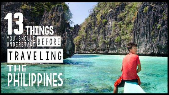 Things you should understand before traveling the Philippines - Featured Images