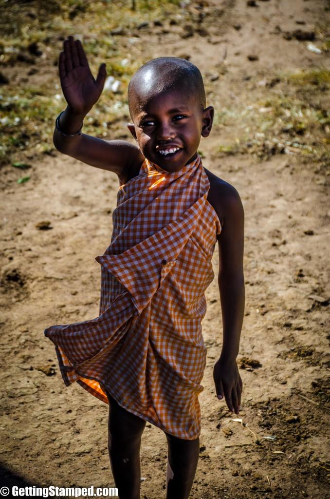 Kenya Safari Mara Masai Day 2 - Village-27