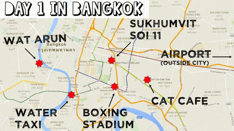 3 Days in Bangkok