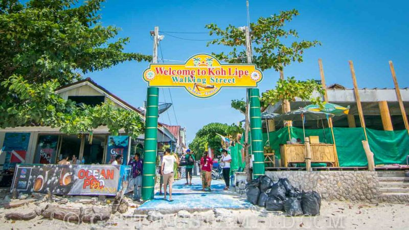 Ultimate Koh Lipe Thailand Guide - Walking Street
