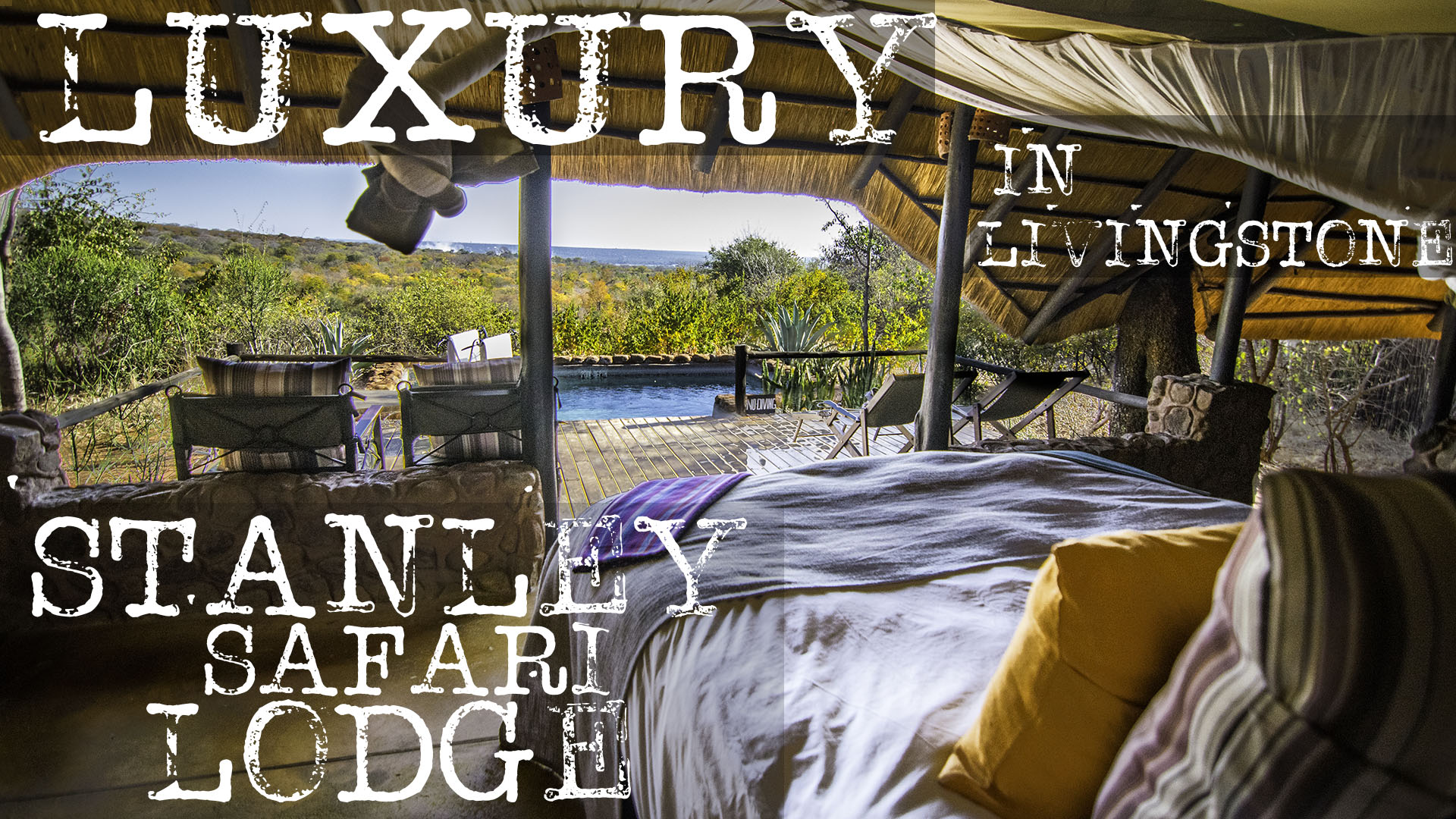 Stanley safari lodge text on picture for feature