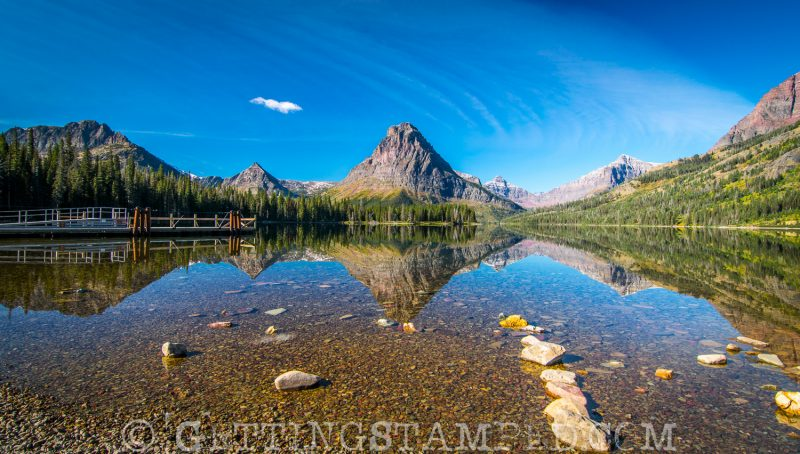 The Best Place For Sunset In Glacier National Park
