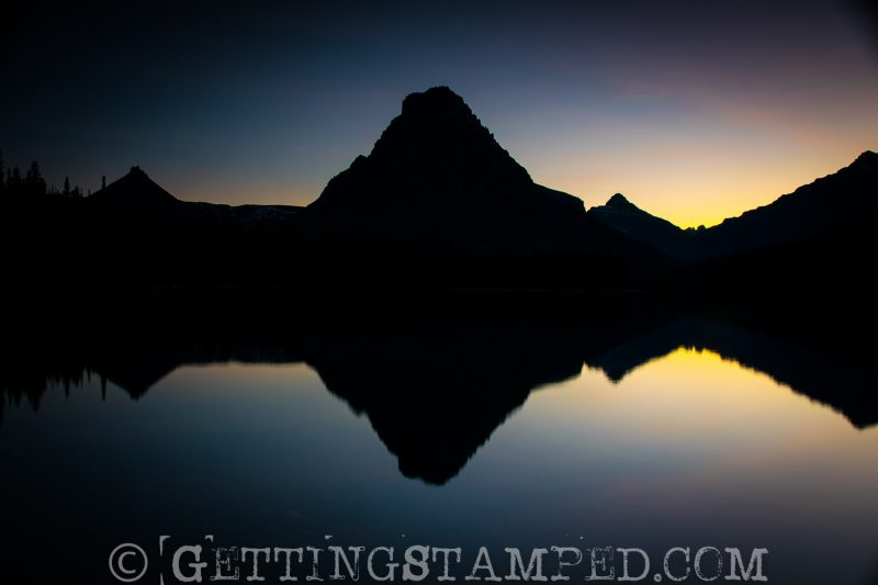 Best Place for sunset in Glacier National Park-2
