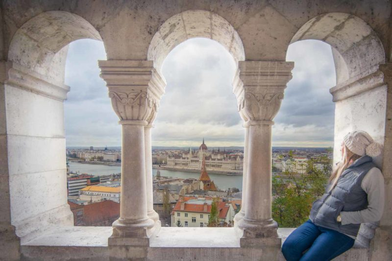 Best views in Budapest - Fisherman's Bastion
