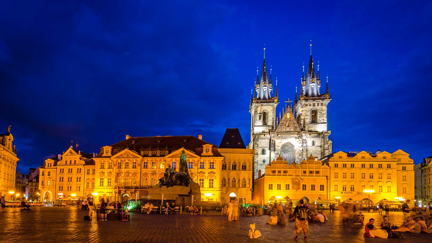 Things to do in Prague - Czech Republic - Prague Night Life Old Town Square at Night-1