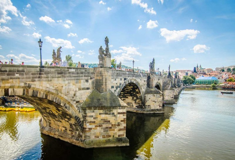 Things to do in Prague - Czech Republic - Saint Charles Bridge-1