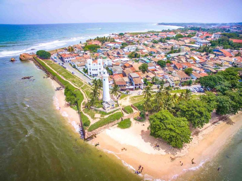 Galle fort from above - photo of the best of Sri Lanka