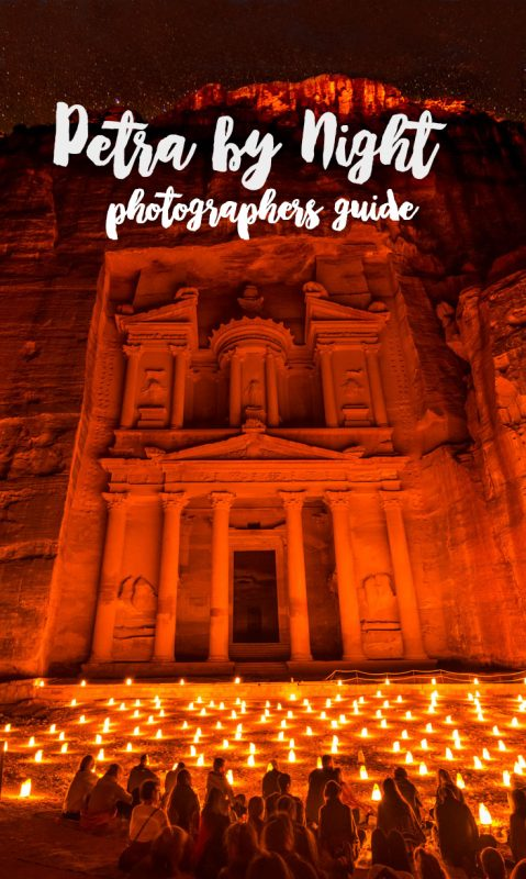 Petra by Night - Photographers guide to Petra at Night pin