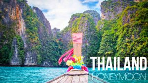 Thailand honeymoon Guide - Koh Phi Phi boat