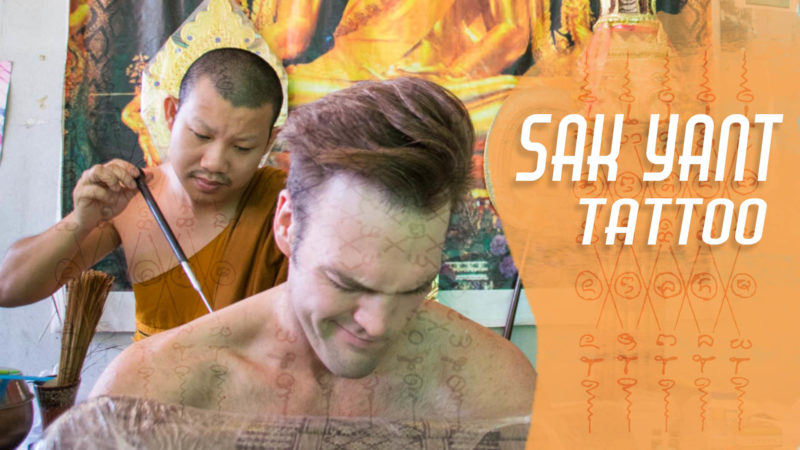 Getting A Sak Yant Tattoo In Chiang Mai Thailand | Getting Stamped