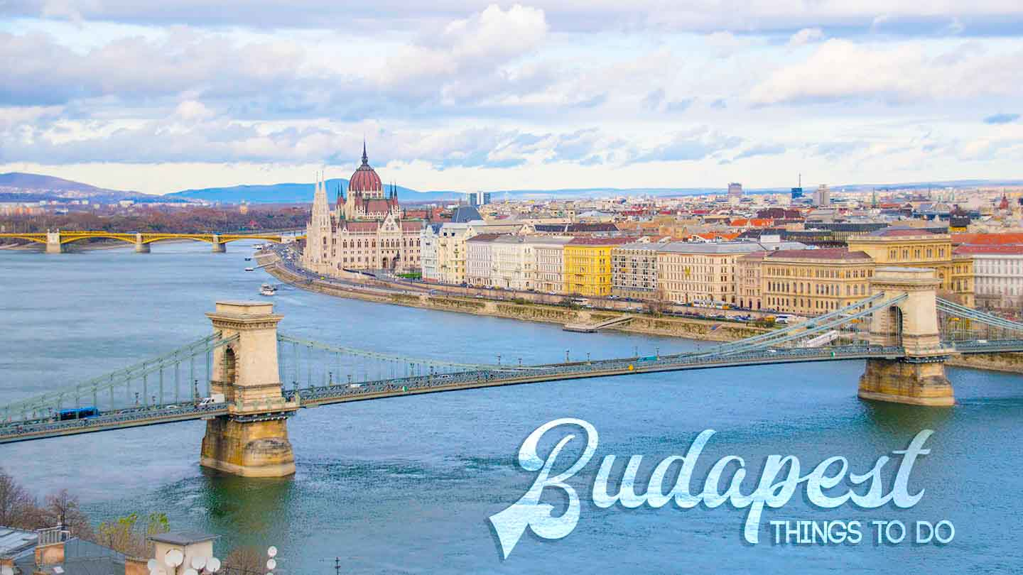 City view of Budapest and things to do