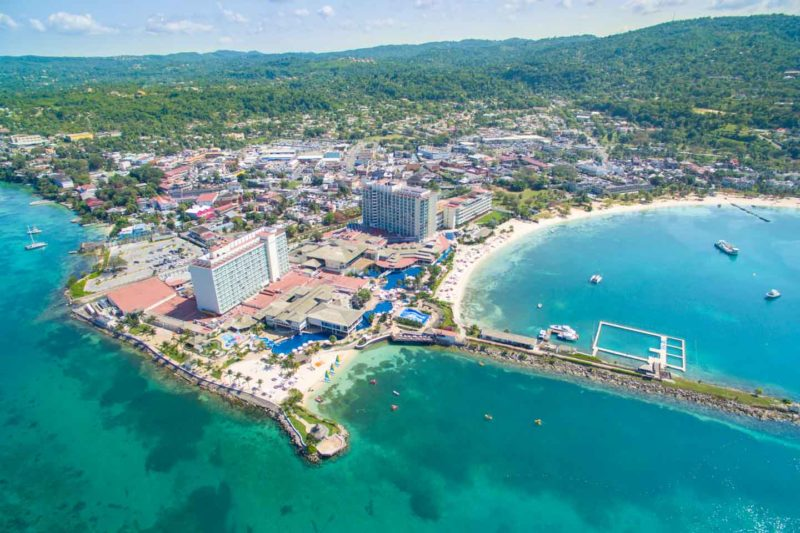 Aerial photo of the Moon Palace Jamaica Grande