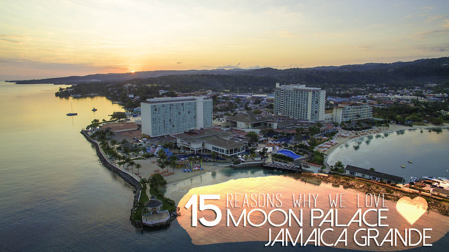 Sunrise over Moon Palace in Ocho Rios Jamaica