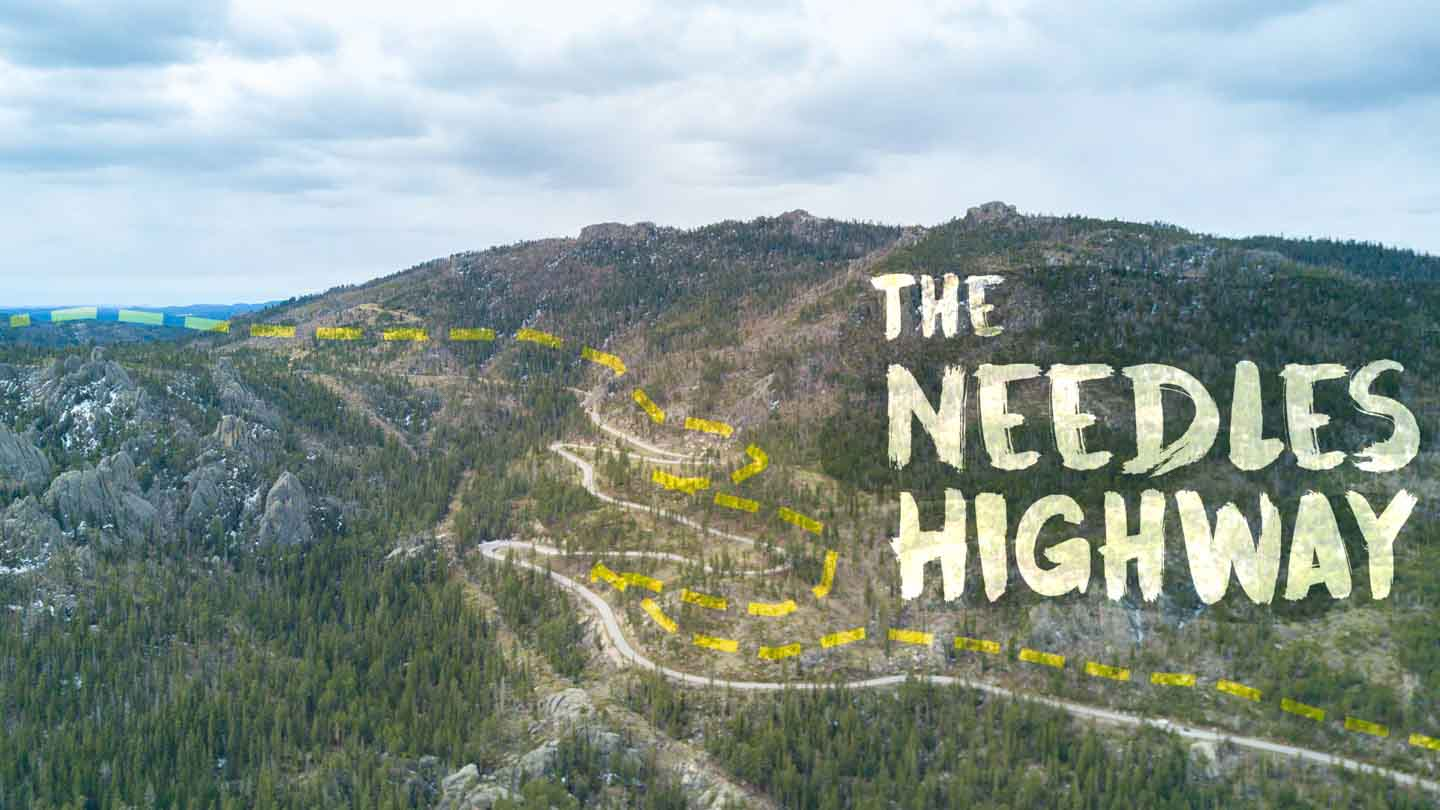 Driving Down The Needles Highway In South Dakota | Getting