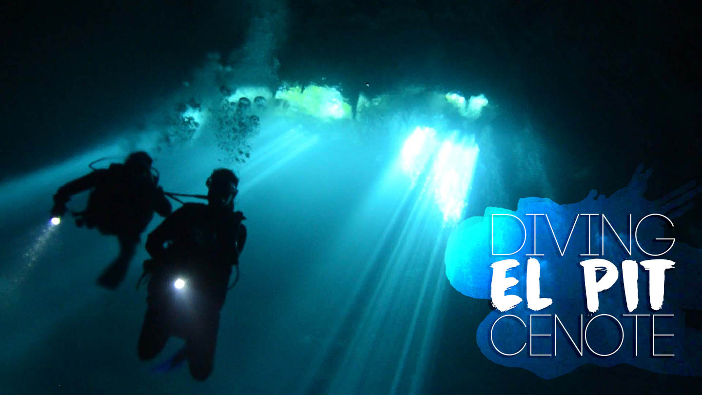 EL Pit Cenote Diving - Featured Image