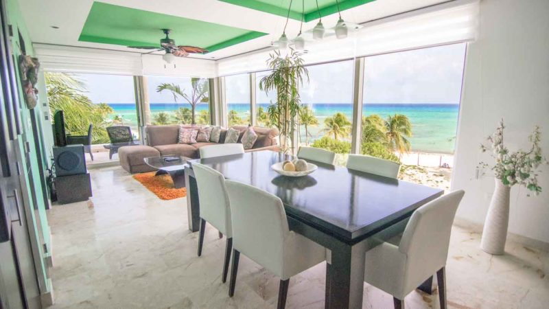 Main living room of Elements Vacation rentals in Playa del carmen