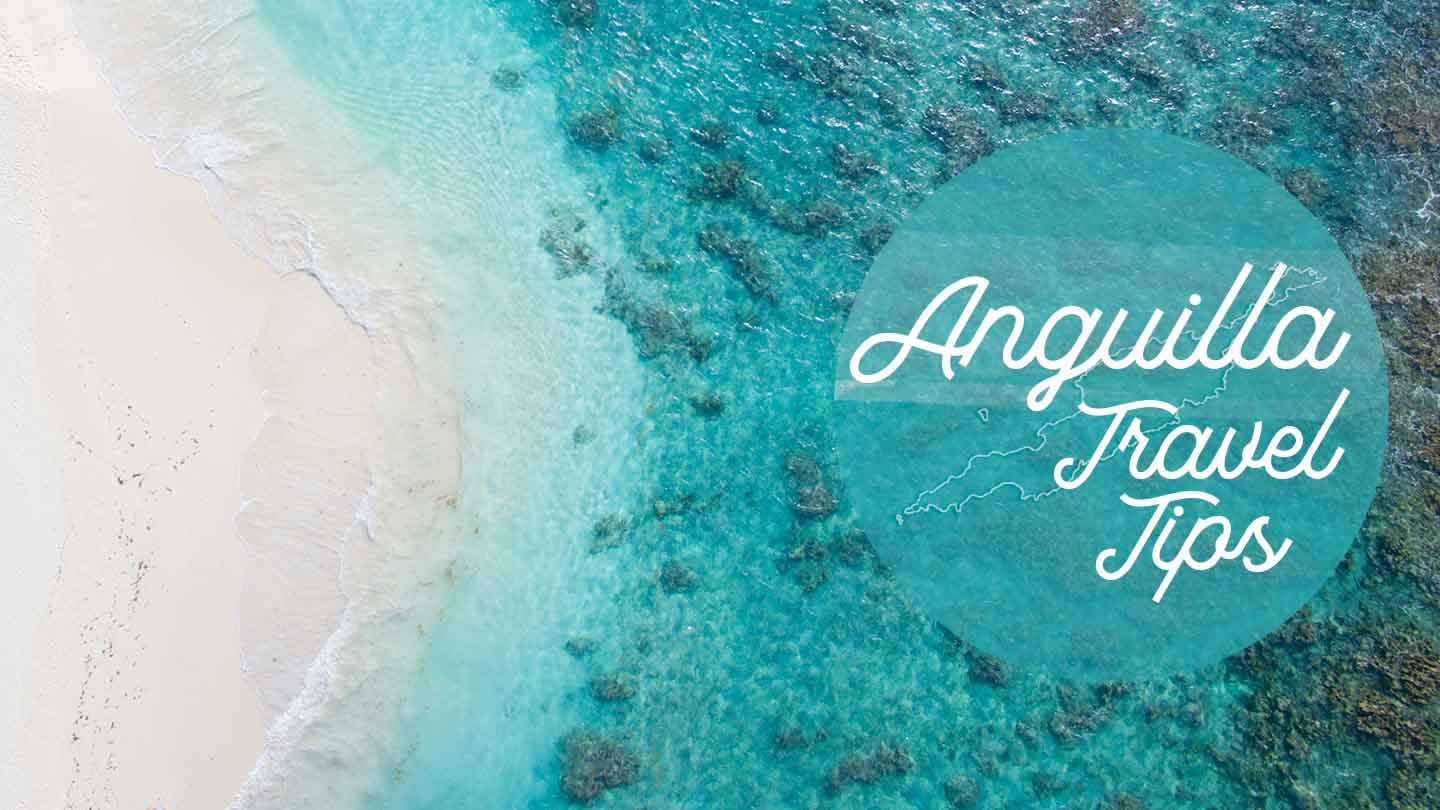featured image for Anguilla Travel Tips - Photo of beach straight down