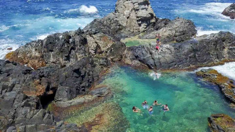 Everything You Need to Know: The Aruba Natural Pool