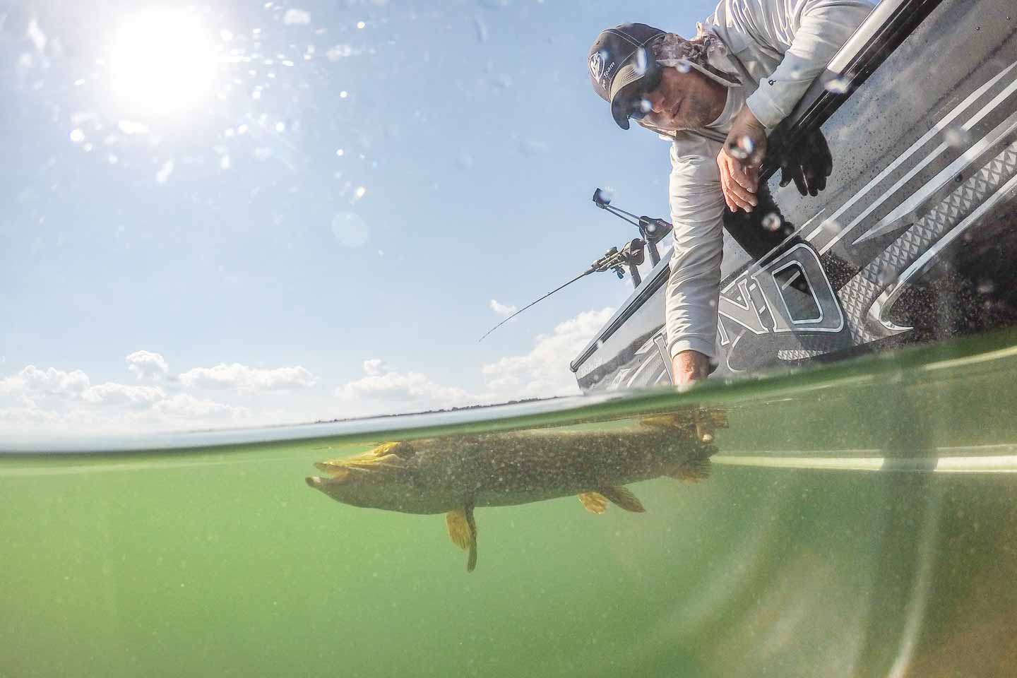 How to take photos with a gopro dome green lake wisconsin for Green lake wi fishing