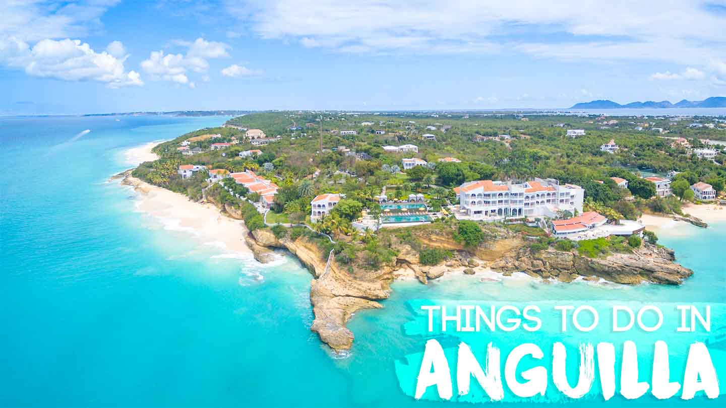 Featured image for things to do in Anguilla - Aerial beach photo