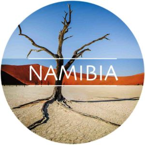 NAMIBIA - Country Icons Round