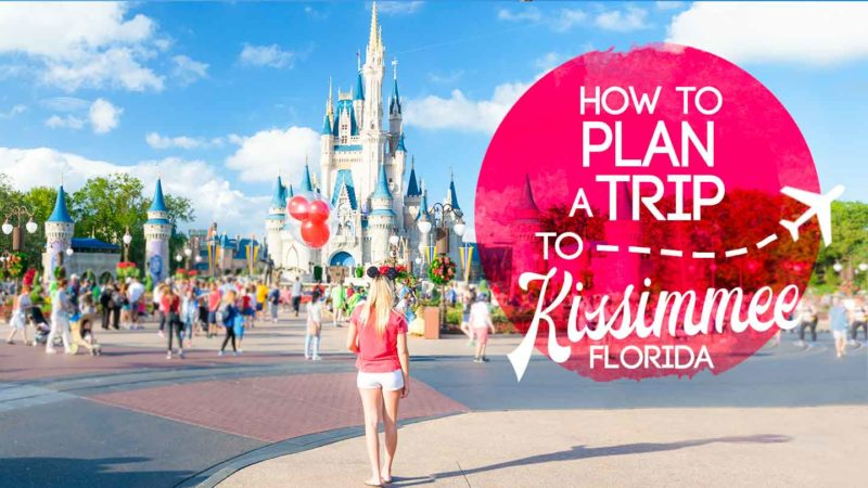 Featured Image for things to do in Kissimmee Florida - Woman at Disney World