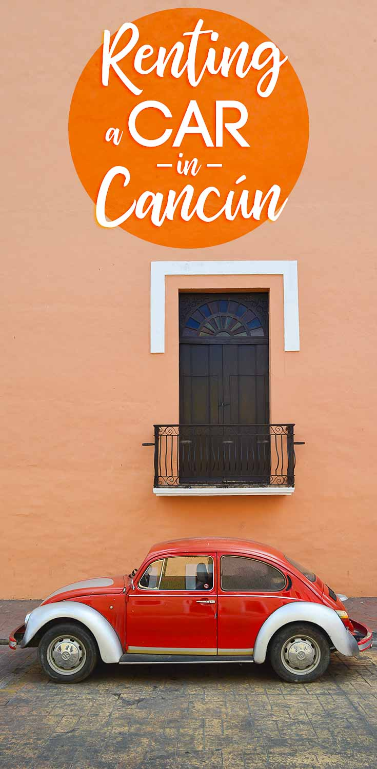 Renting a car in mexico cancun