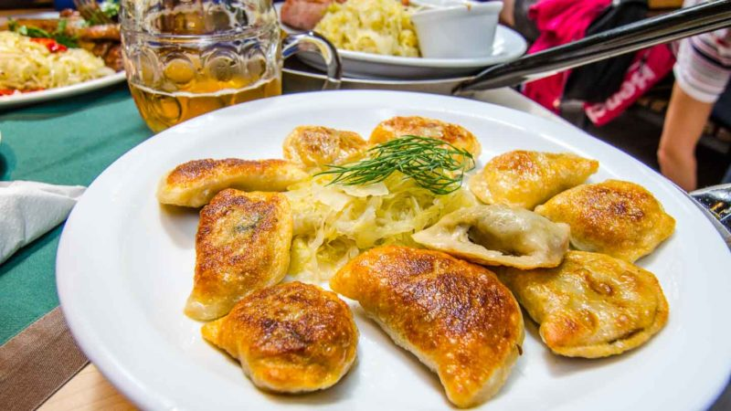 Pierogies in Krakow - Must try dishes in Krakow