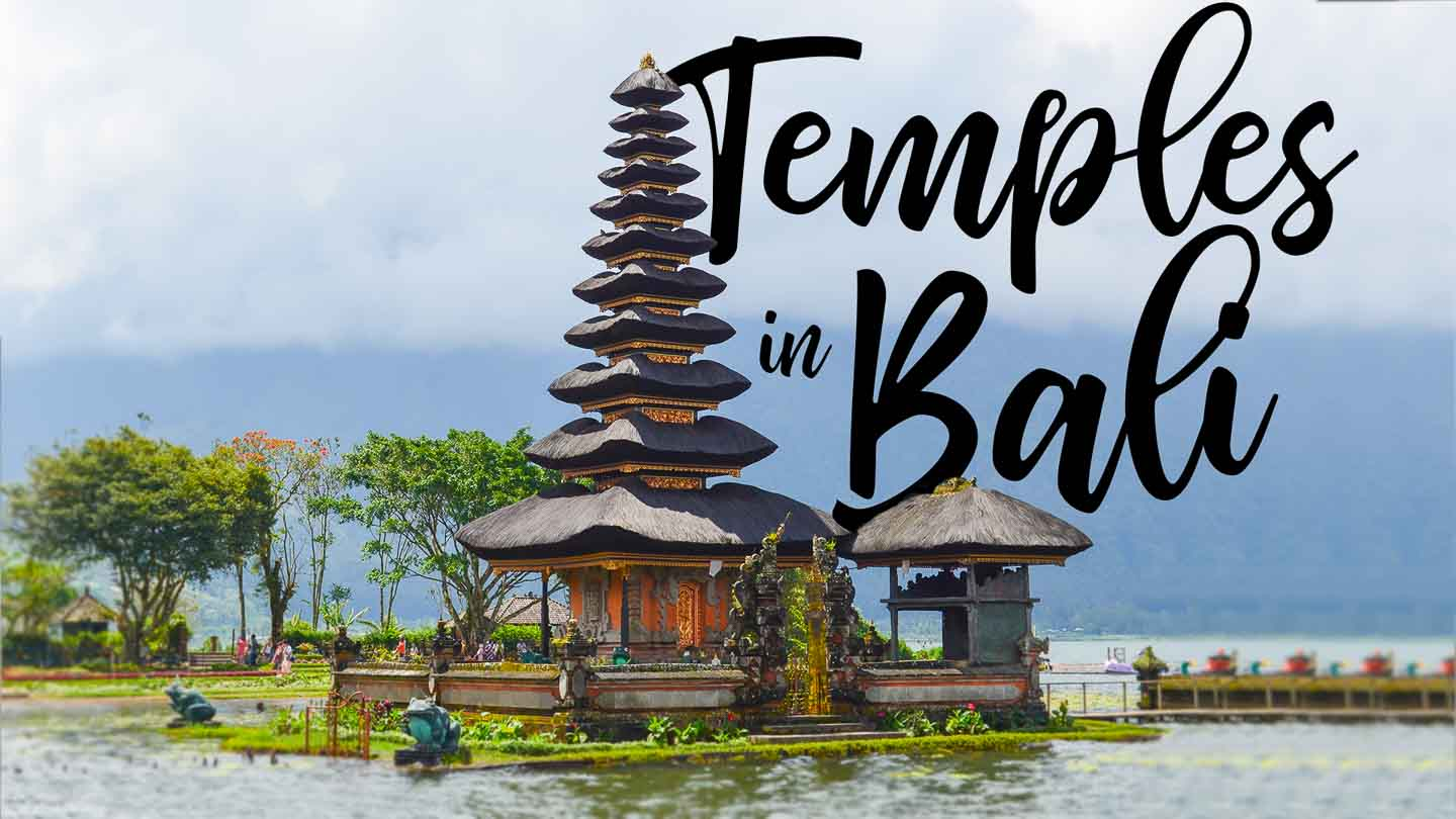 featured image for temples in Bali - Ulun Danu Bratan temple
