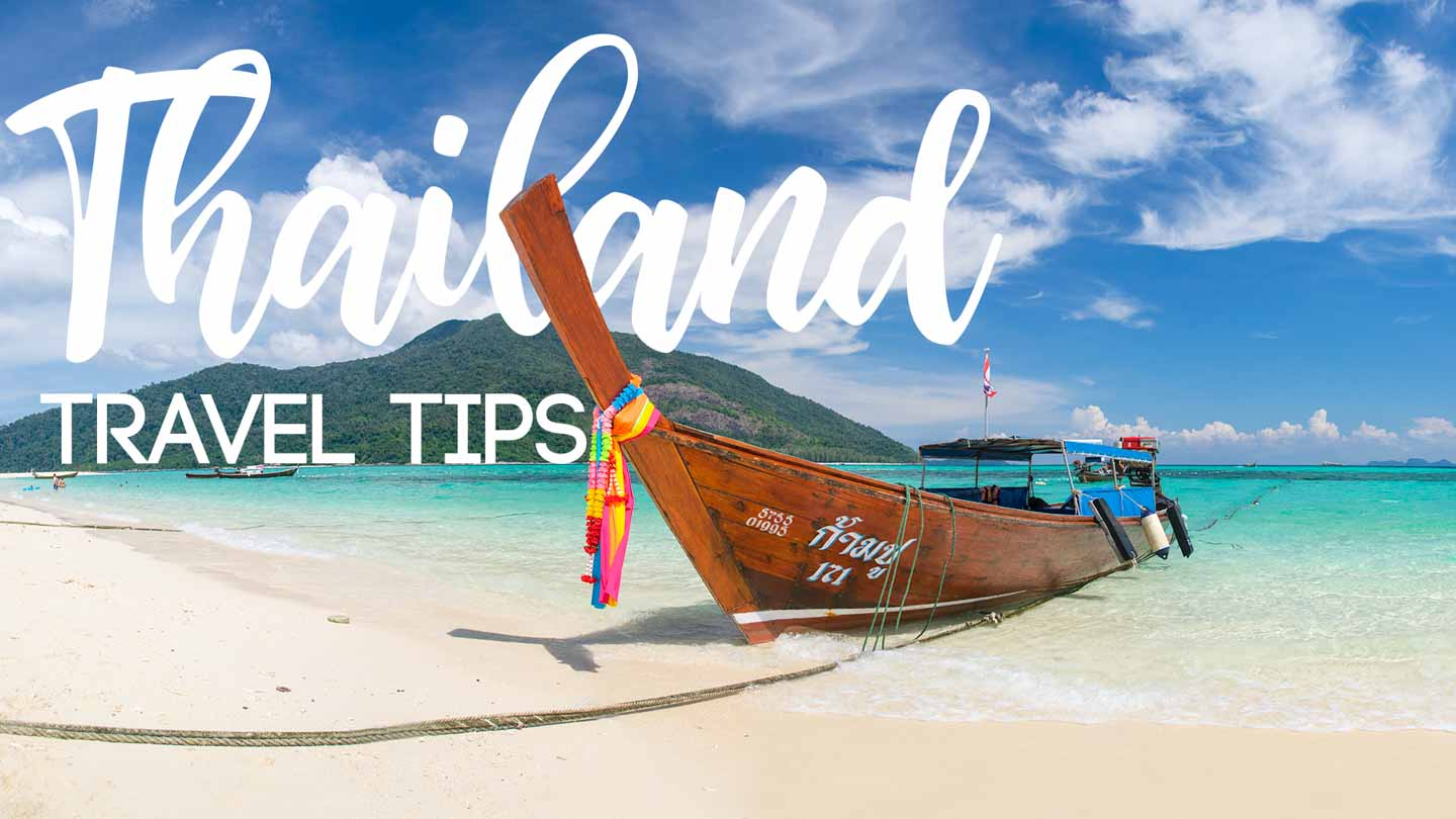 Thai Long Tail Boat - Featured image for Thailand Travel Tips