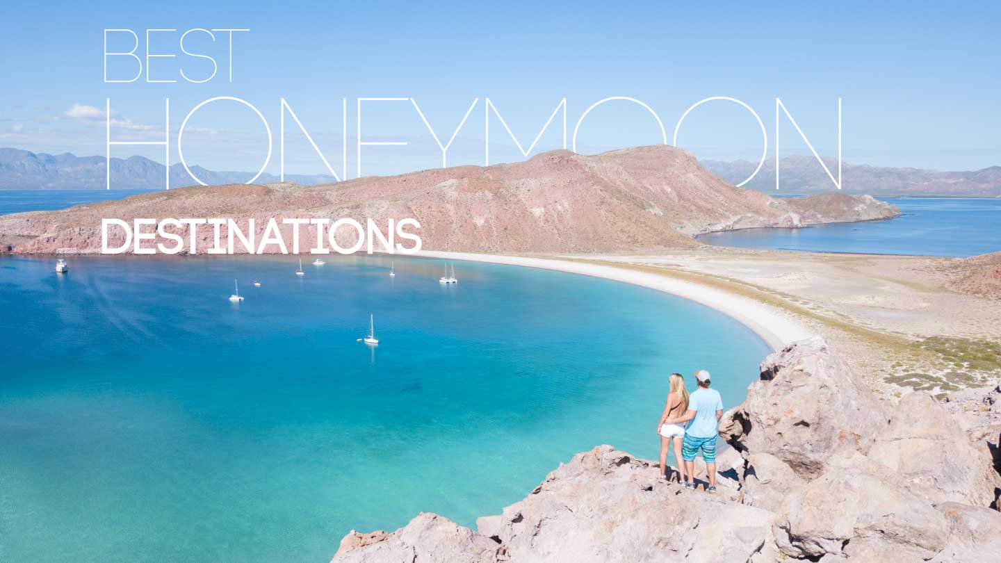 featured image for best honeymoon destinations couple in mexico traveling together