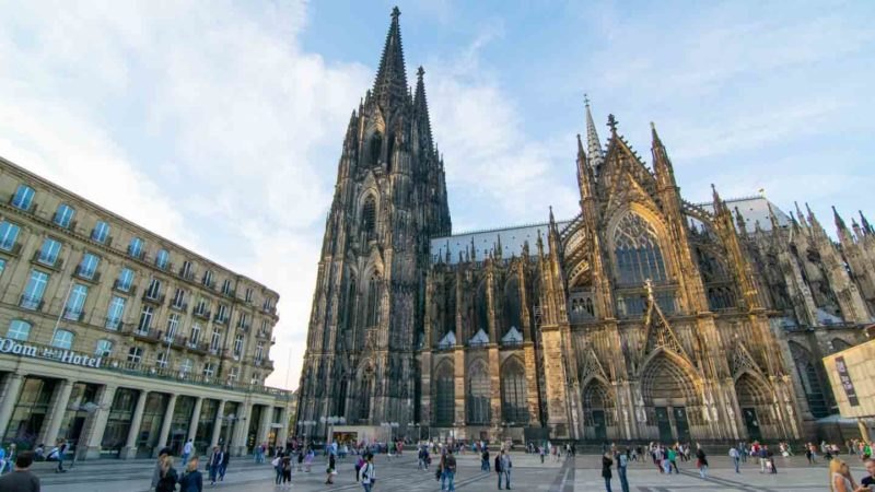 The 515 foot tall Kolner dom in the center of Cologne - Top attractions