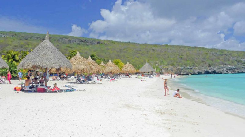 Cas Abou Beach in Curacao