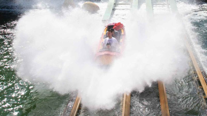Water ride at UOR - Universal Hacks and Tips