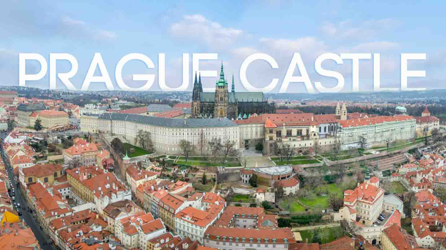 Aerial Photo of the Prague Castle - Featured Image for Prague Castle Tour