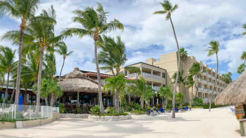 Exterior view of the Ceecha Lodge and spa - Places to stay on the drive fromMiami to Key West