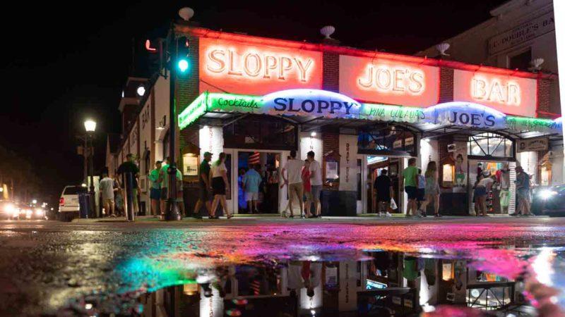 Sloppy Joe's Key West Florida at Night