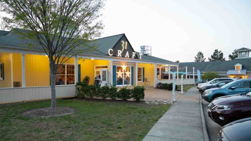 Exterior view of Craft 31 Restaurant - Top Rated Williamsburg
